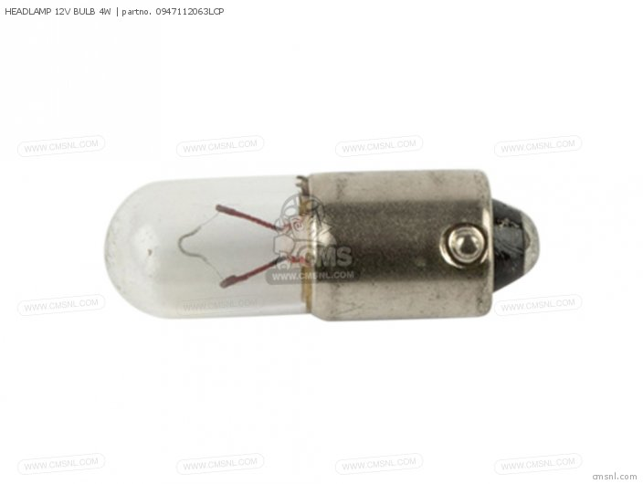Headlamp 12v Bulb 4w photo
