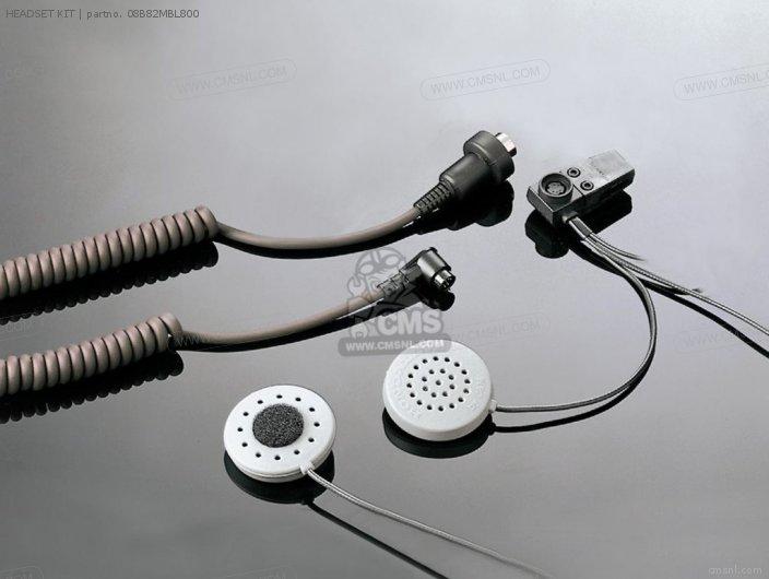 Honda HEADSET KIT 08B82MBL800