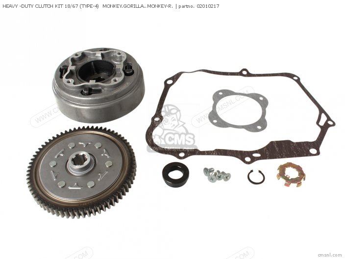 HEAVY -DUTY CLUTCH KIT 18 67 TYPE-4  MONKEY GORILLA  MONKEY-R