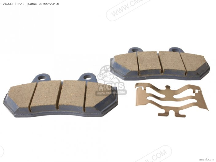(06435MC7405) PAD,SET BRAKE