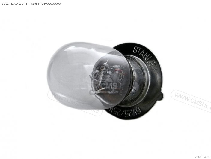 (34901087640) BULB HEAD LIGHT