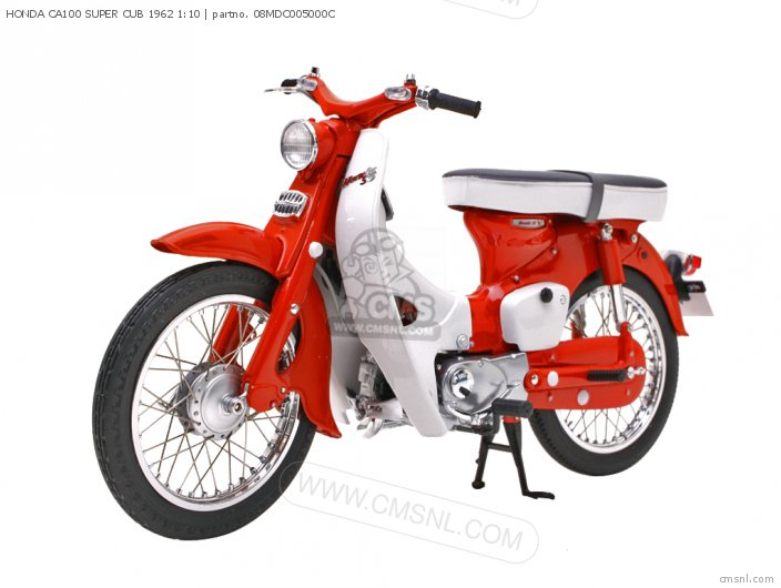 Scale Models Honda Ca100 Super Cub 1962 1 10