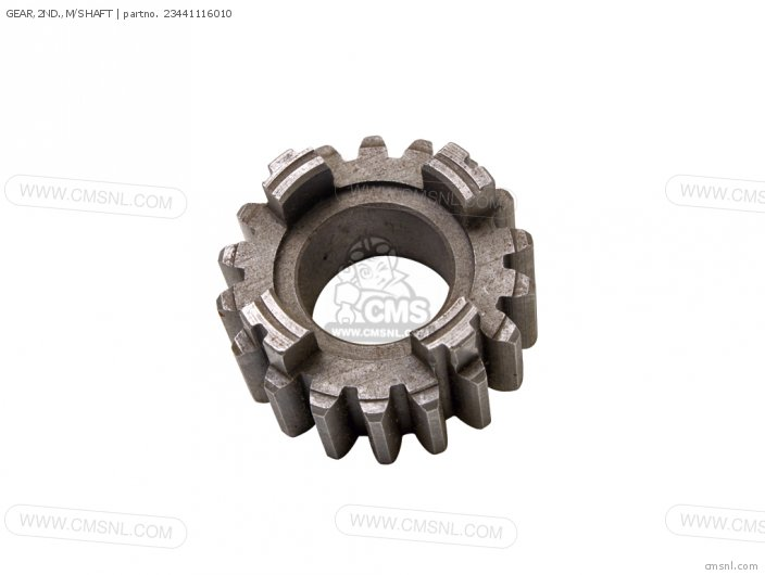 GEAR,2ND.,M/SHAFT