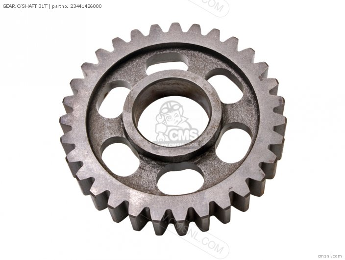 GEAR,C/SHAFT 31T
