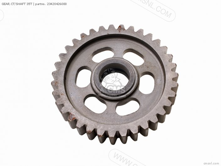 GEAR,CT/SHAFT 35T