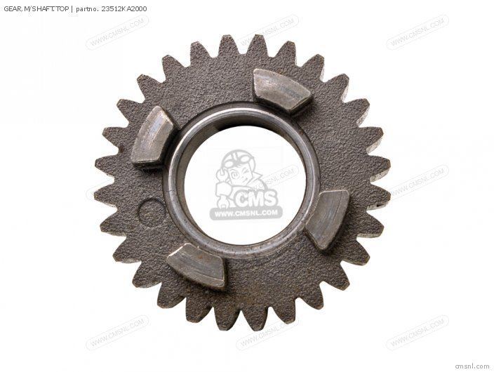 GEAR,M/SHAFT.TOP