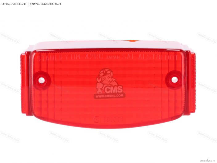 LENS,TAIL LIGHT