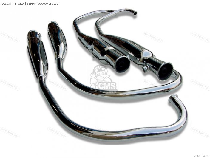MUFFLER SET  CB500FOUR  CB550FOURK-K2