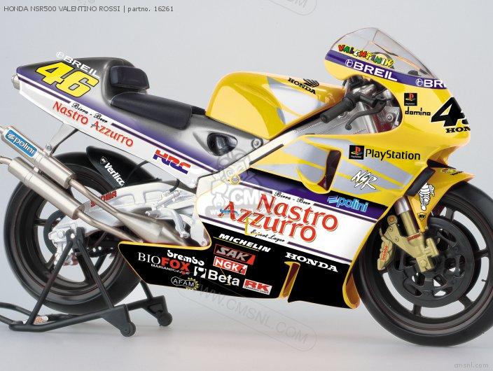 HONDA NSR500 #46 Valentino Rossi Diecast Motorcycle Model scale die cast