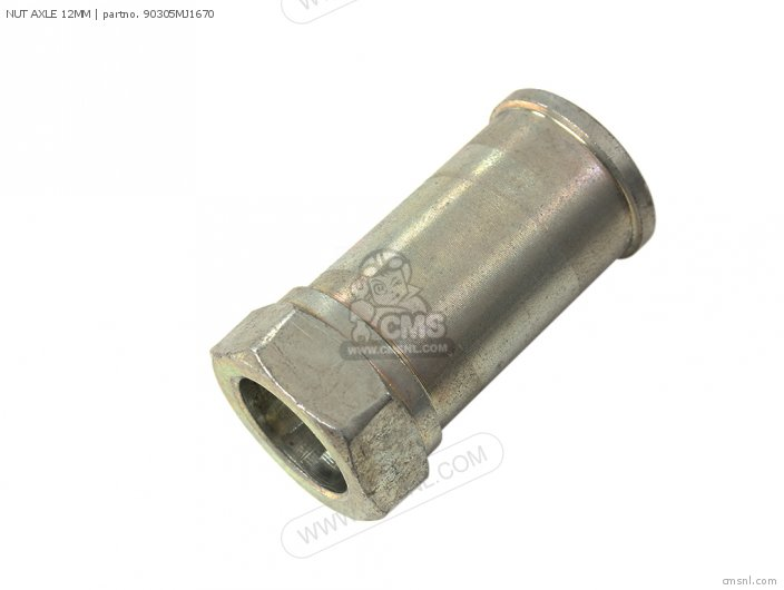 NUT AXLE 12MM