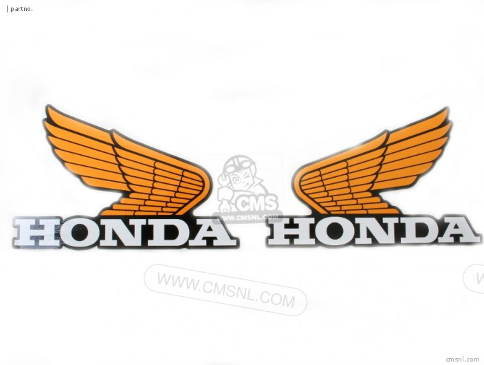HONDA OLD WING DECAL