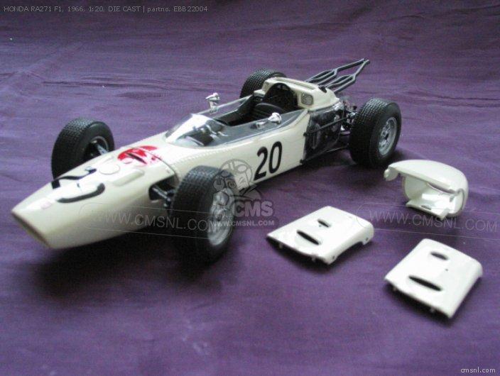 HONDA RA271 F1, 1966, 1:20, DIE CAST