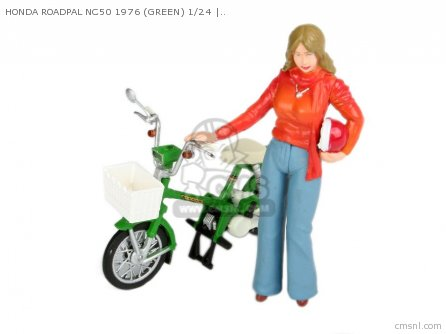 Scale Models Honda Roadpal Nc50 1976 green 1 24