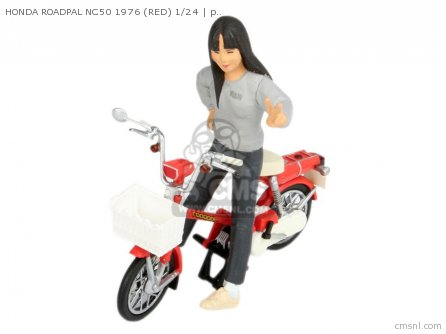 Scale Models Honda Roadpal Nc50 1976 red 1 24