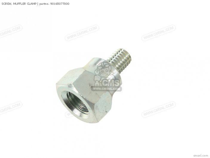 SCREW, MUFFLER CLAMP