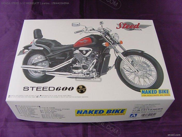 Honda Steed 1:12 Modelkit photo