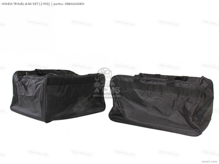Gifts And Collectibles Honda Travel Bag Set 2 Pcs