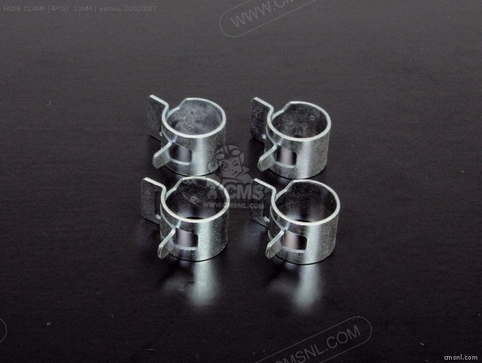 Hose Clamp (4pcs)  13mm photo