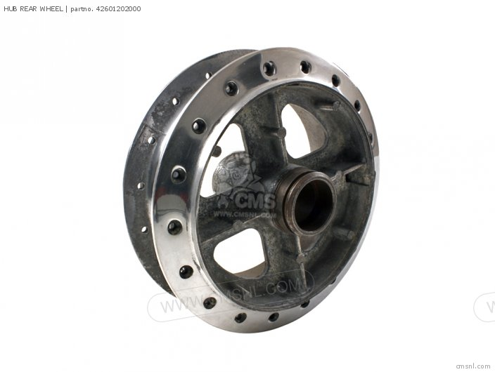 CA95 BENLY TOURING 150 USA HUB REAR WHEEL