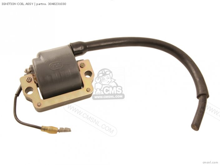 CT3 1973 USA IGNITION COIL ASSY