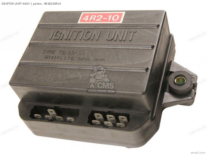XS850 1981 B USA IGNITOR UNIT ASSY