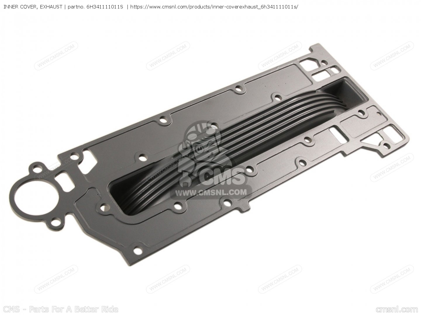 INNER COVER  EXHAUST Yamaha 6H3-41111-01-1S