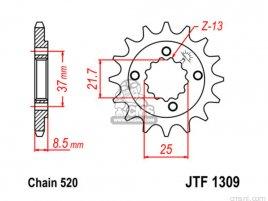 JT FRONT SPROCKET 1309.13