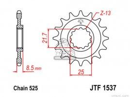 JT FRONT SPROCKET 1537.15