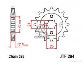JT FRONT SPROCKET 294.14