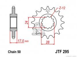 JT FRONT SPROCKET 295.16