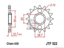JT FRONT SPROCKET 522.14