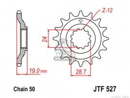 JT FRONT SPROCKET 527.16