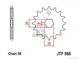 JT FRONT SPROCKET 568.15
