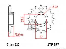 JT FRONT SPROCKET 577.14