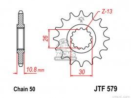 JT FRONT SPROCKET 579.18