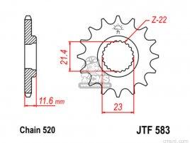 JT FRONT SPROCKET 583.14