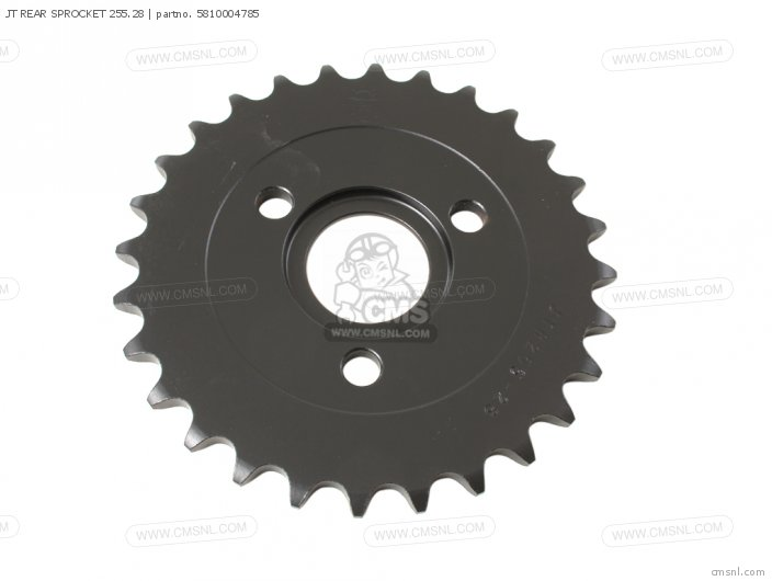 JT REAR SPROCKET 255 28