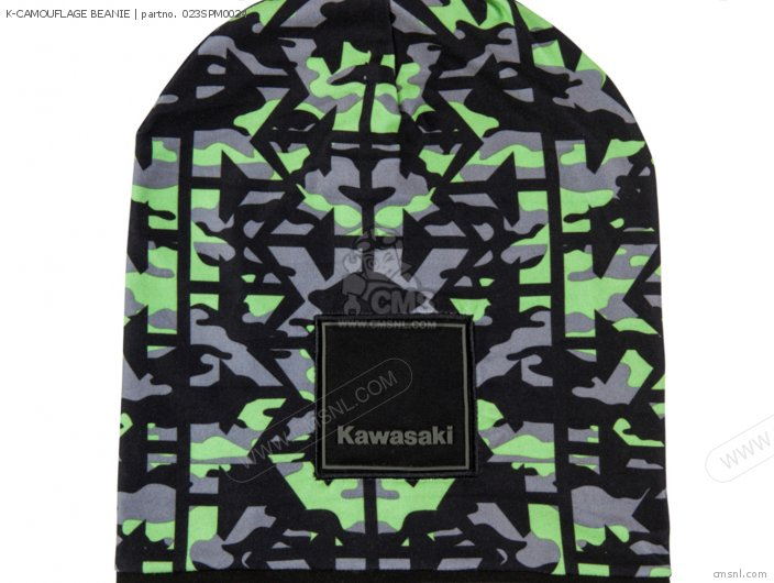 K-camouflage Beanie photo