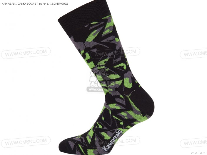 Kawasaki Camo Socks photo