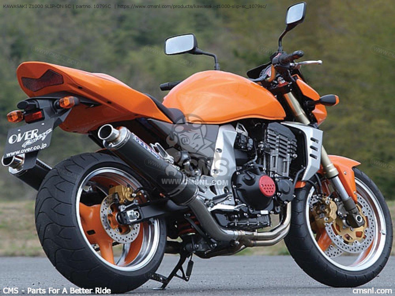 Kawasaki Z1000 Slip On Sc Photo