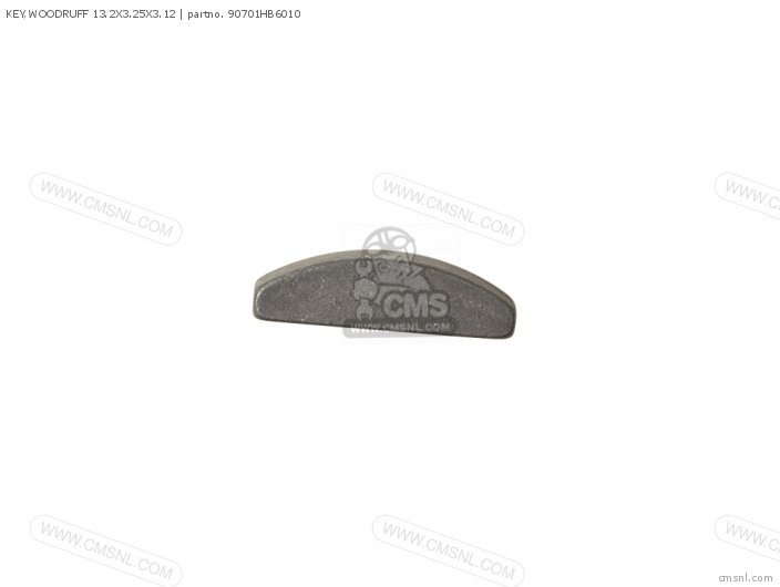 KEY,WOODRUFF 13.2X3.25X3.12