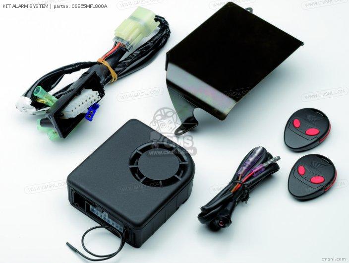 Cbr1000rr Fireblade Kit Alarm System