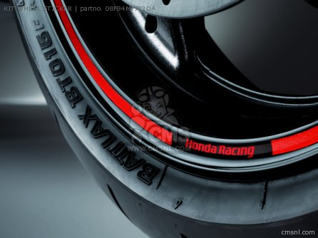 Cbr600rr Kit Wheel Sticker