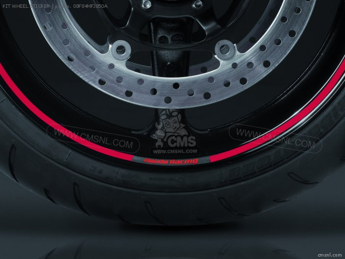 Cbr1000rr Fireblade Access 2008 8 Kit Wheel Sticker