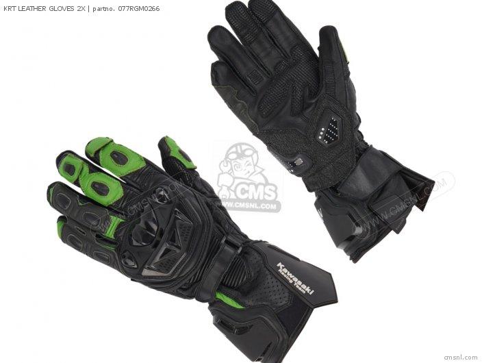 Krt Leather Gloves 2x photo