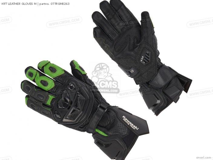 Krt Leather Gloves M photo