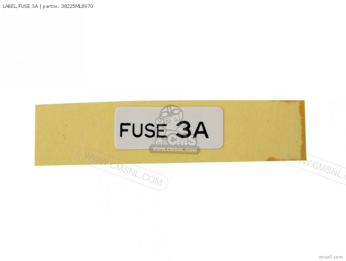 LABEL,FUSE 3A