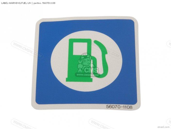Label-warning, Fuel Un photo