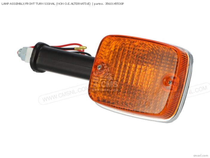 LAMP ASSEMBLY FRONT TURN SIGNAL NON O E ALTERNATIVE