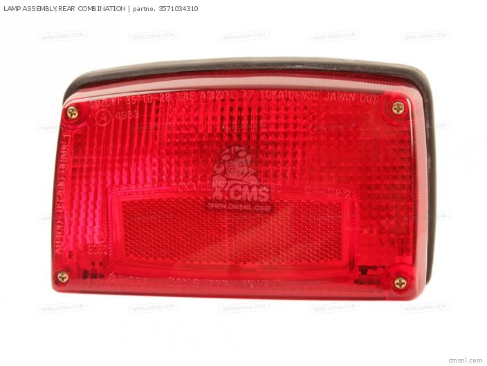 GS650M 1983 D USA E03 LAMP ASSEMBLY REAR COMBINATION